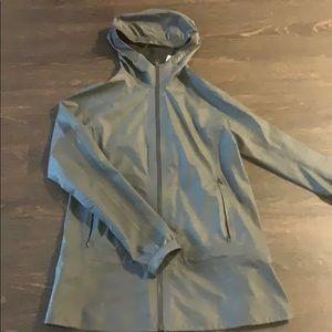 Lululemon grey rain jacket